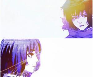 manga couple, tokyo ghoul, and hinami fueguchi image