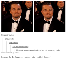 funny, oscar, and tumblr image