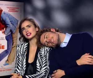 Sam, love rosie, and lily collins image