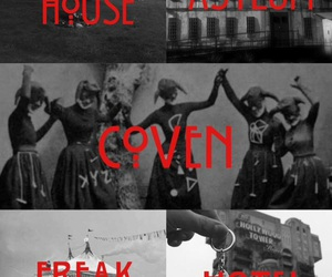 asylum, coven, and american horror story image