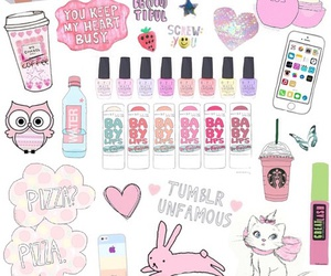 wallpaper, tumblr, and pink image