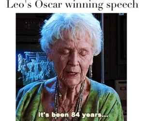 funny, titanic, and oscar image