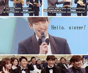 funny, lee min ho, and kdrama image