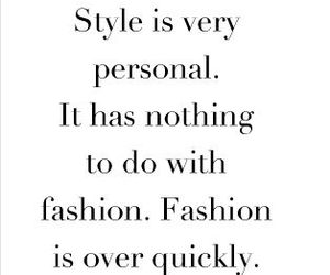 style, fashion, and quote image