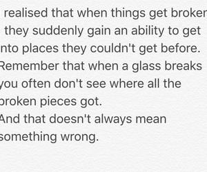 broken, heart, and hope image