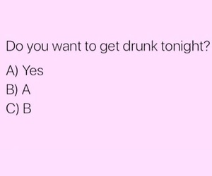 alcohol, drinking, and pink image