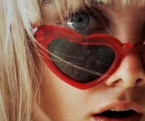 blonde, blue eyes, and fashion image
