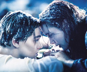 titanic, love, and rose image