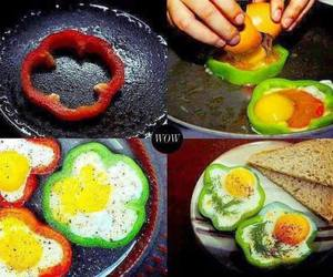 food, eggs, and breakfast image