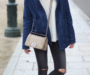 casual, comfy, and denim image