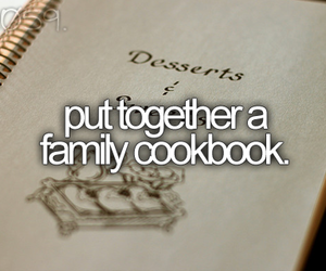 family, goals, and bucket list image