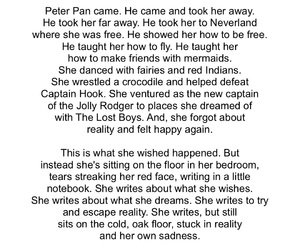escape, neverland, and peter pan image
