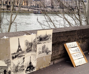art, paris, and aesthetic image