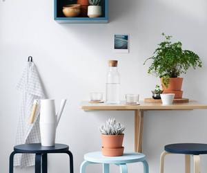 ikea, plants, and chair image