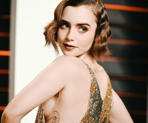 Vanity Fair, afterparty, and lily collins image