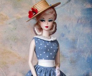 classy, dress, and doll image