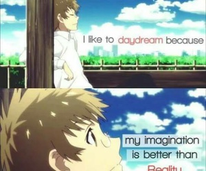 anime, daydream, and manga image