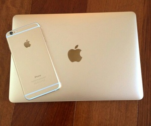 iphone, macbook, and apple image