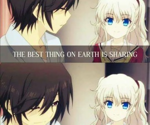 anime, charlotte, and quotes image