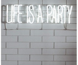 life, party, and light image