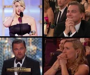 kate, titanic, and Leonardo image