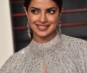 beautiful smile, priyanka chopra, and oscar 2016 image