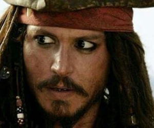 jack sparrow, johnny depp, and pirates of the carribean image