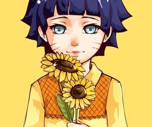 naruto, himawari, and anime image