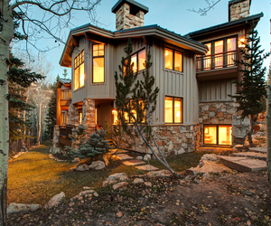 architecture, dream home, and house image