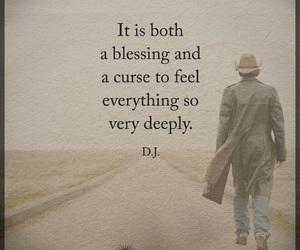 curse, deep, and feel image
