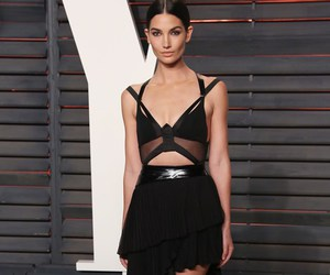 Lily Aldridge, oscar, and afterparty image