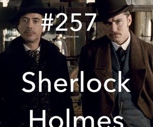holmes, movie, and sherlock image