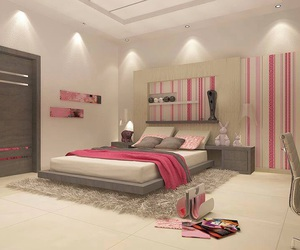 bedroom, Dream, and pink image