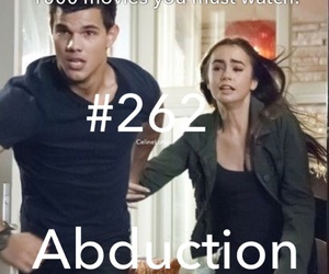 abduction, lautner, and movie image