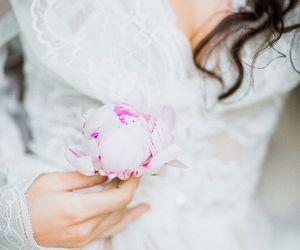 beautiful, bridal, and romance image