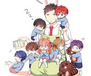 anime, gekkan shoujo nozaki-kun, and kawaii image