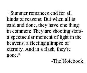 love, summer, and the notebook image