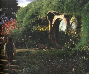 frodo, the shire, and lord of the rings image