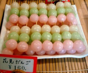 food, japanese, and dango image