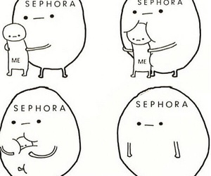 sephora, me, and funny image