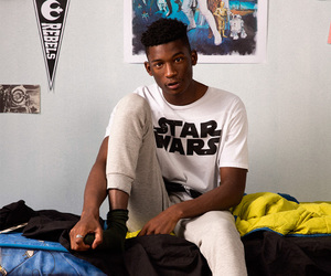 male model, model, and star wars image