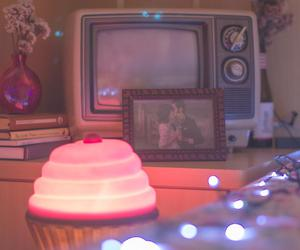 cupcake, girl room, and retro girl image
