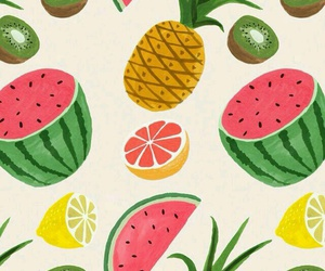 background, FRUiTS, and summer image