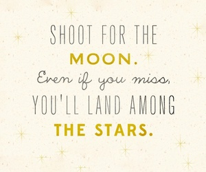 moon, quotes, and stars image