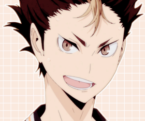haikyuu and nishinoya yuu image