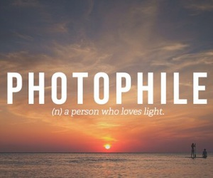 light and photophile image