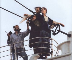 titanic, movie, and leonardo dicaprio image