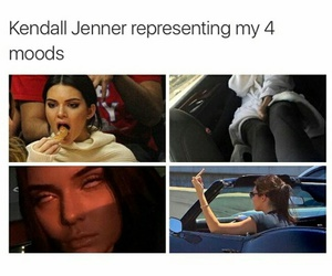 funny, kendall jenner, and celebrities image