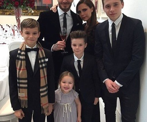 family, David Beckham, and outfit image
