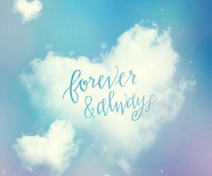 forever, always, and sky image